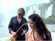 """Charly y Noelia, el dúo Gitanos, grabaron """"Se enciende el mundo"""" en Cataratas del Iguazú"""