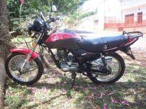 Fotografía de la moto robada
