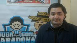 César Pared, propietario de la Agencia Nº 0348, de la capital correntina.