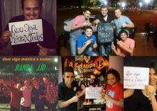 Varios artistas hicieron público su apoyo al MxT