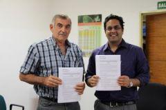 Luis Prietto y Anish Narang rubricaron el acuerdo