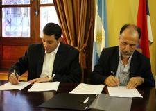 La firma de Perez y Gortari