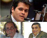 (Arriba) Diputado Gonzalez, Thomas y Santiago (Abajo)