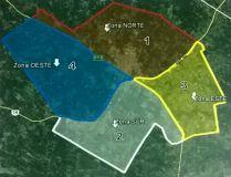 Foto: Cada zona tiene sus subdivisiones