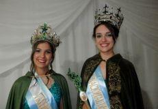 Foto: La Virreina Guadalupe Benítez y la flamante Reina Gabriela Bararab