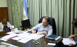 Sartori consolido un nuevo aumento salarial para los municipales