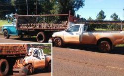 El conductor de la camioneta debió ser derivado al Hospital